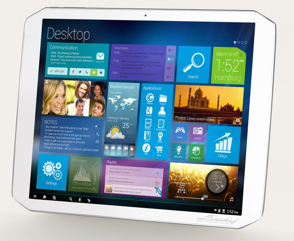 Linshof Performance Tablet