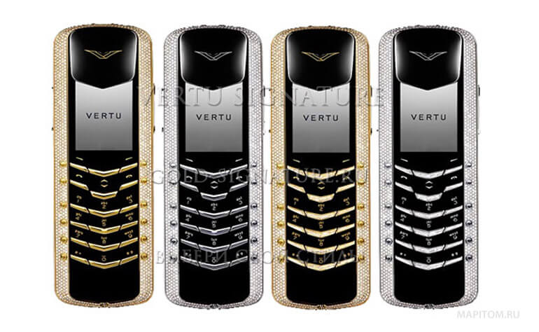 Vertu Diamond collection